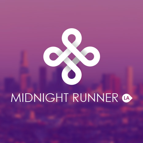 Midnight Runner Logo Design